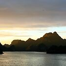 Ha Long Bay Sunset by Erland Howden