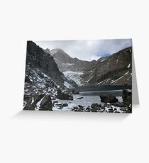 Chasm Lake in October Greeting Card