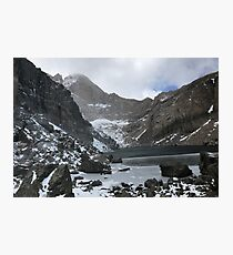 Chasm Lake in October Photographic Print