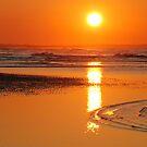 Sunset in Zeeland by Adri  Padmos