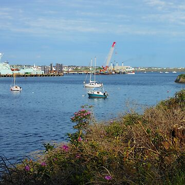 The Docks, Stornoway, Isle of Lewis by kathrynsgallery