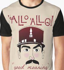 "Allo Allo, Offizier Crabtree, ""gut stöhnen"" Grafik T-Shirt"