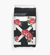 Funda nórdica Off White Broken Roses Hypebeast Fanmade ilustraciones