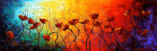 The Poppy Universe by Abstract D'Oyley