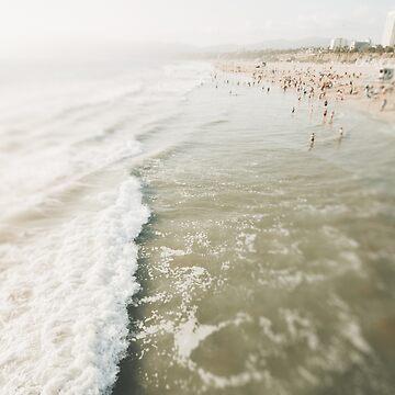 Beach View Santa Monica Seaside by CaliforniaPhoto
