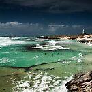 Basin storm, Rottnest by Colin White