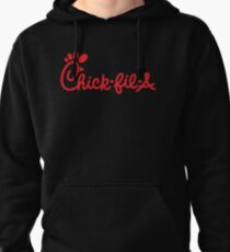 Chick fil a yummy coy Pullover Hoodie