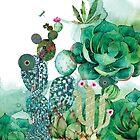 Prickly Pear Garden by Narelle Craven