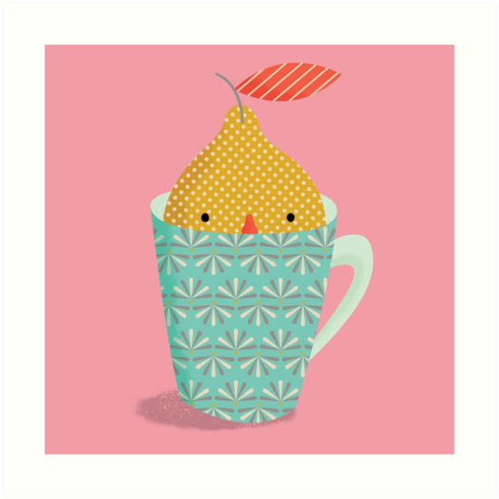 lemon in a cup by silviarossana