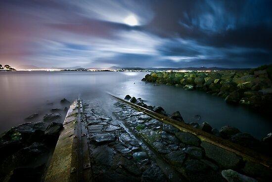 Poseidon's Path - Hobart, Tasmania by Liam Byrne