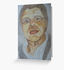 jerry springer Greeting Card