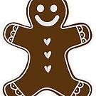 Gingerbread Man A by Kat Sanders