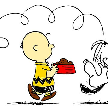 Charlie Brown & Snoopy: Dinner Time! by Pop-Pop-P-Pow