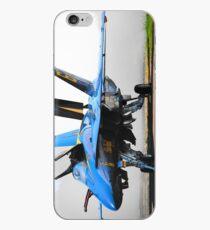 Blue 6 iPhone Case