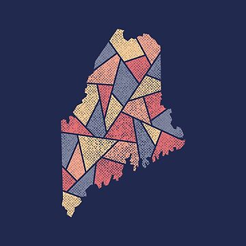 Maine Mosaic - Harbor Dawn by DesignSyndicate