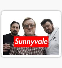 Trailer Park Boys Sunnyvale Sticker Sticker