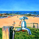 Tap on the Beach by Guntis Jansons