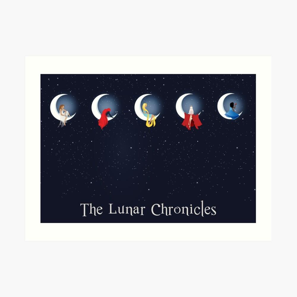 die Mondchroniken Kunstdruck