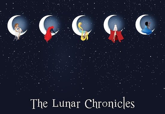Quot The Lunar Chronicles Quot Poster By Sashakhalid Redbubble
