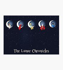 die Mondchroniken Fotodruck