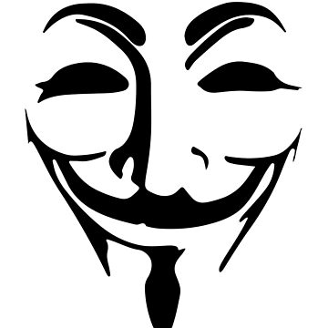 Anonymous mask by ZyzzShirts