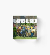 ROBLOX GIFT ITEMS - Tshirt - Phone Case - Pillows - Mugs & Much More.. Acrylic Block