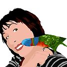 a little peck by Matt Mawson
