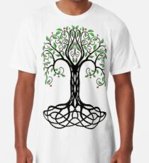 Yggdrasil Árbol de la Vida. Camiseta larga