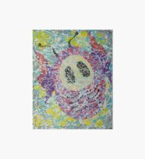 Baby cocoon #1 Abstract Chrysalis Art Board