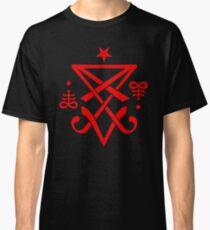 Occult Sigil of Lucifer Satanic Classic T-Shirt