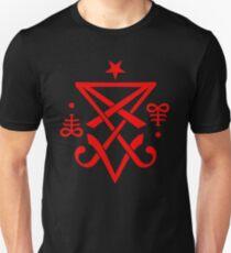 Occult Sigil of Lucifer Satanic Unisex T-Shirt