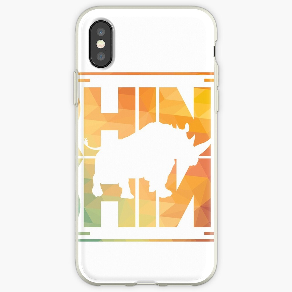 Nashorn iPhone-Hülle & Cover