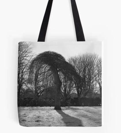 Tree In A Freeze Tote Bag
