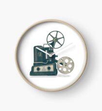 Retro Cinema Projector Clock
