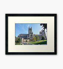 National Cathedral College, Washington DC, USA Framed Print