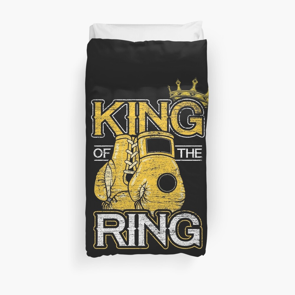 Boxing competition Duvet Cover