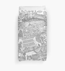 Berlin - Drawing - Duvet Cover