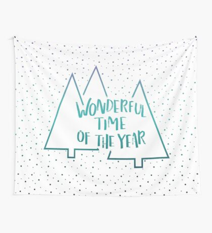 It's The Most #redbubble #xmas Wall Tapestry