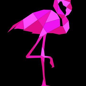 Flamingo polygon by mtsdesign