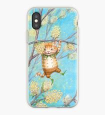 Catkin - cute pussy-willow-pixie iPhone Case