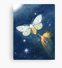 Snip - cute spark-pixie Canvas Print