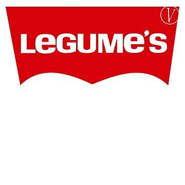 Legumes - Funny Vegan Gift Idea by LuckyU-Design
