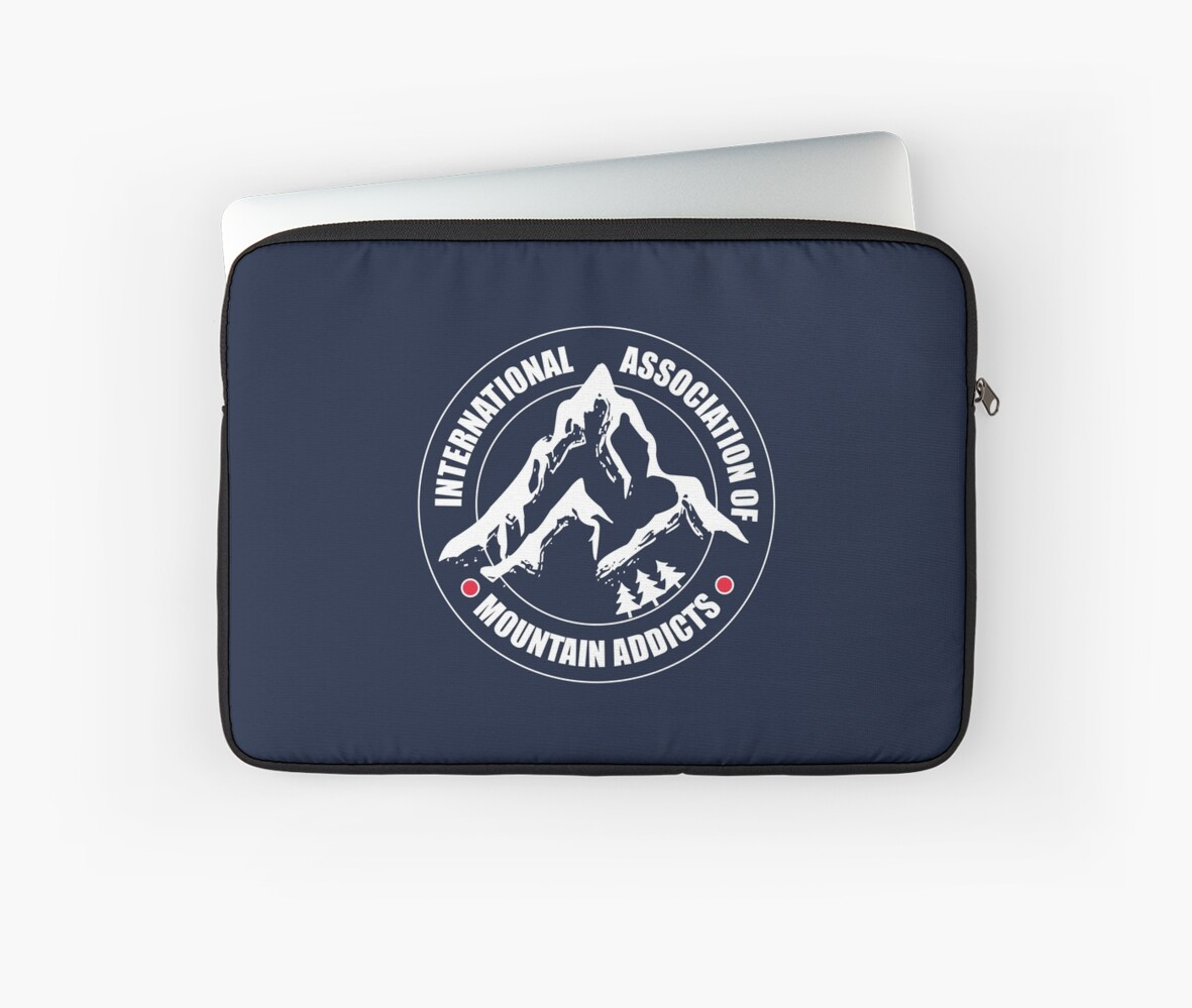 International Association of Mountain addicts badge by AlexaDesign