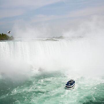 Canadian Falls, Niagara, Canada  by AnnDixon