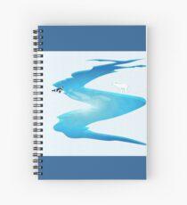 Arctic Ecosystem Spiral Notebook