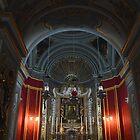 St Paul's Cathedral. Altar Area. Mdina, Malta by Igor Pozdnyakov