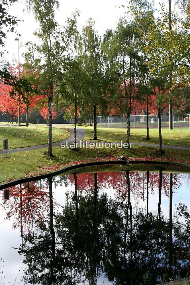 Reflecting Fall by starlitewonder