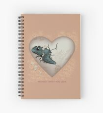 Love Sea Turtles - Egg Heart Spiral Notebook