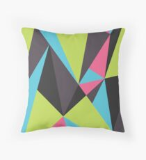 Triangle Composition Throw Pillow