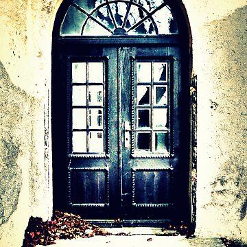 The Old School Door by angel1